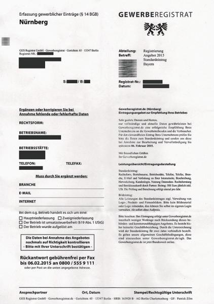 GES Registrat GmbH