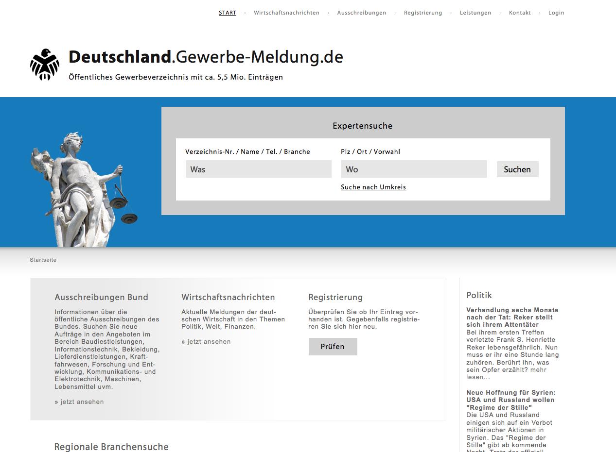 Gewerbe-Meldung.de